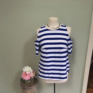 Striped Top! Never Worn!